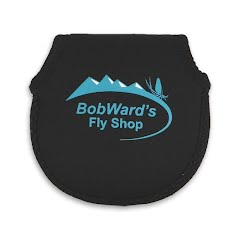 Stone Creek Bob Ward's Fly Shop Neoprene Reel Pouch Image