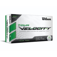 Wilson Sporting Goods Tour Velocity Golf Balls (15 Pack) Image