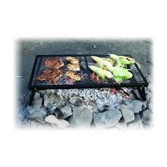 Camp Chef Lumberjack Over Fire Grill Image