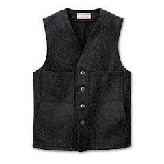 Filson Men`s Wool Machinaw Vest (Extra Long) Image
