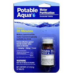 Potable Aqua Water Purification Tablets Image