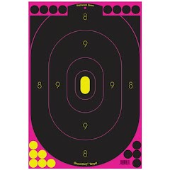 Birchwood Casey Shoot N C 12 x 18 Inch Self Reactive Targets (5 Pack) Image