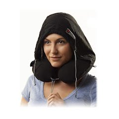 Grand Trunk Travel Pillow, Hooded Image