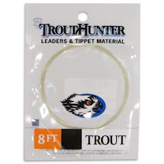 Trout Hunter Nylon Trout Leader (3X, 8ft) Image