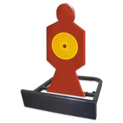 Do-all Outdoors High Caliber Body Shot Shooting Target Image