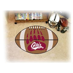 Fanmats University of Montana Grizzlies Football Rug Image