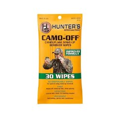 Hunter Specialties Camo-Off Camouflage Makeup Remover Wipes Image