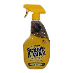 Hunter Specialties Scent-A-Way 32 oz Spray Bottle: Fresh Earth Image