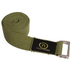 Natural Fitness Hemp 8ft. Yoga Strap Image