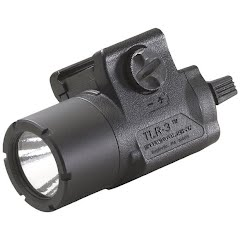 Streamlight TLR-3 Compact Rail Mounted Tactical Light with Lazer Sight Image
