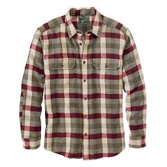Woolrich Men`s Oxbow Bend Flannel Shirt Image