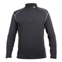 Hot Chillys Men's MTF 4000 Zip-T Image