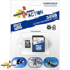 Maxflash 32 GB Maxflash Action Micro SD HC Card, Class 10 Image