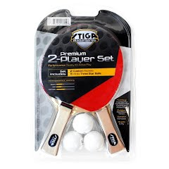 Stiga Master Series Performance 2 Player Table Tennis Racquet Set Image