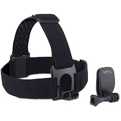Gopro Head Strap Mount + Quickclip Image