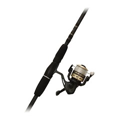 Zebco Champion Spinning Rod and Reel Combo: 6 Foot 2 Piece Image