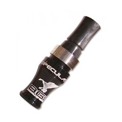 Buck Gardner Speculator Acrylic Goose Call: All Black Pearl Image