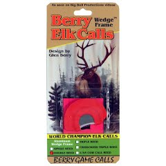 Berry Game Calls Wedge Frame Double Reed Elk Call Image