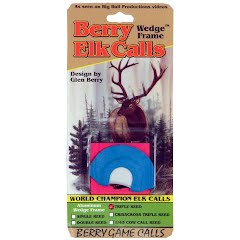 Berry Game Calls Wedge Frame Triple Reed Elk Call Image