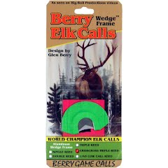 Berry Game Calls Wedge Frame CrissCross Triple Reed Elk Call Image