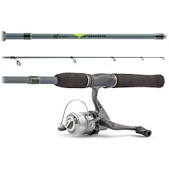 South Bend Raven 6ft, 6-Piece Spinning Travel Combo Image