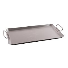 Stansport 12''x20'' Commercial-Grade Rectangle Griddle Image