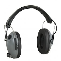 The Allen Co Electronic Hearing Protecting Low Profile Muffs Image