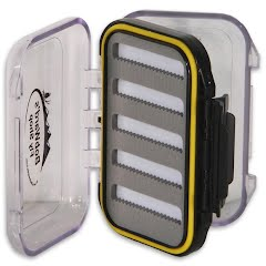 New Phase Bob Ward`s Fly Shop Vest Waterproof Fly Box Image