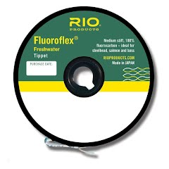Rio Fluoroflex Freshwater Tippet: Line Size 7x Image