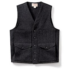 Filson Mens Mackinaw Wool Cruiser Vest Image