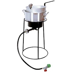 King Kooker Multi-Purpose Portable Propane Outdoor Cooker with Stand Image