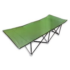 World Famous Folding Heavy-Duty Extra-Wide Camping Cot Image