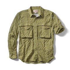 Filson Mens Angler Long Sleeve Shirt Image