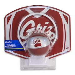 Baden Sports University of Montana Griz Mini Ball and Hoop Basketball Set Image
