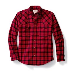 Filson Mens Flannel Hunting Shirt Image