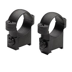 Burris Solid Steel 1'' Rings for Short Action CZ 527 Rifles Image