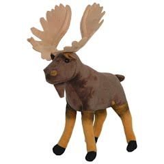 Wildlife Artists Moose Conservation Critter Plush Stuffed Animal Image