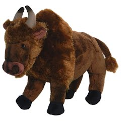 Wildlife Artists Bison Conservation Critter Plush Stuffed Animal Image