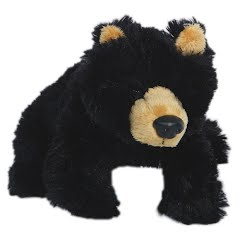 Wildlife Artists Black Bear Conservation Critter Plush Stuffed Animal Image