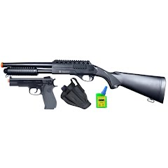 Palco Smith and Wesson On Duty Airsoft Shotgun/Pistol Kit Image