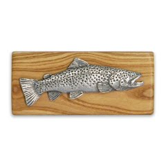 11 Outdoors Brown Trout Handcrafted Money Clip