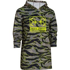 Under Armour Boy`s Youth Iso Chill Element Hoodie Image