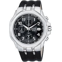 Pulsar Mens Chronograph Sports Watch Image