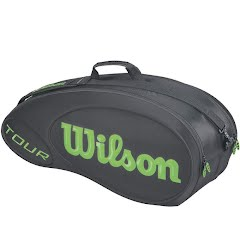 Wilson Burn Molded 9-Pack Tennis Bag Image