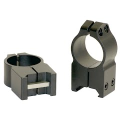 Warne Maxima 30mm Medium Fixed Scope Rings (Matte) Image