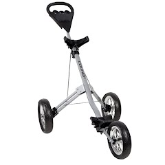 Pinemeadow Golf Courier Cruiser 3-Wheel Push Cart Image