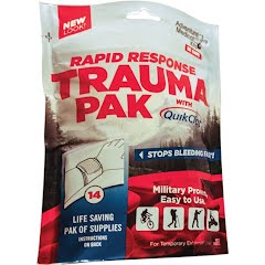 Adventure Medical Rapid Response Trauma Pack with Quikclot Image