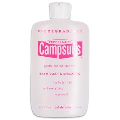 Campsuds Peppermint Bath Soap and Shampoo Formula (8oz) Image