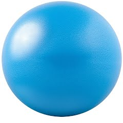 Gofit 20cm Core Ab Ball with Brook Benten Workout DVD Image