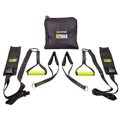Gofit Gravity Straps with Exercise Manual and Carry Bag Image